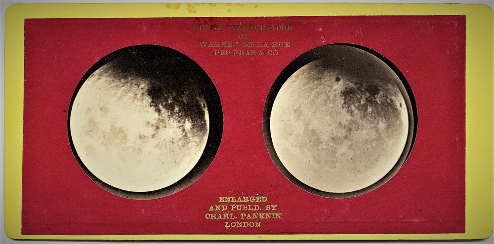 Warren De La Rue, Fotografie lunari, 1868-1859, CMSA F23867