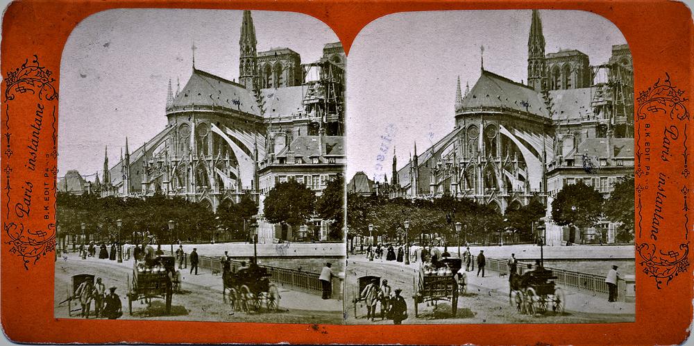 B. K. Editeur, Abside di Notre Dame, [1880] CMSA F199199