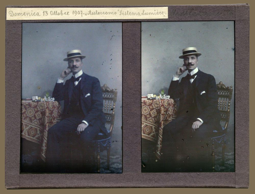 Mino Zanutto, Oreste Zanutto, 1907, CMSA F207902