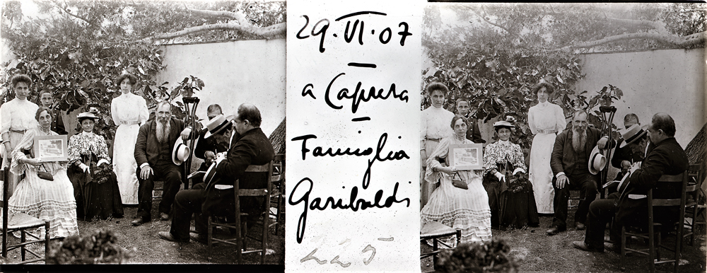 Caprera, la famiglia Garibaldi, [1907], CMSA F NV 225